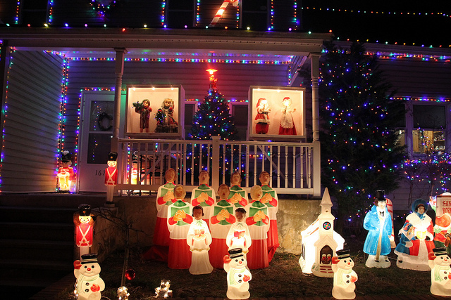 Merrick & Bellmore Christmas lights 2018