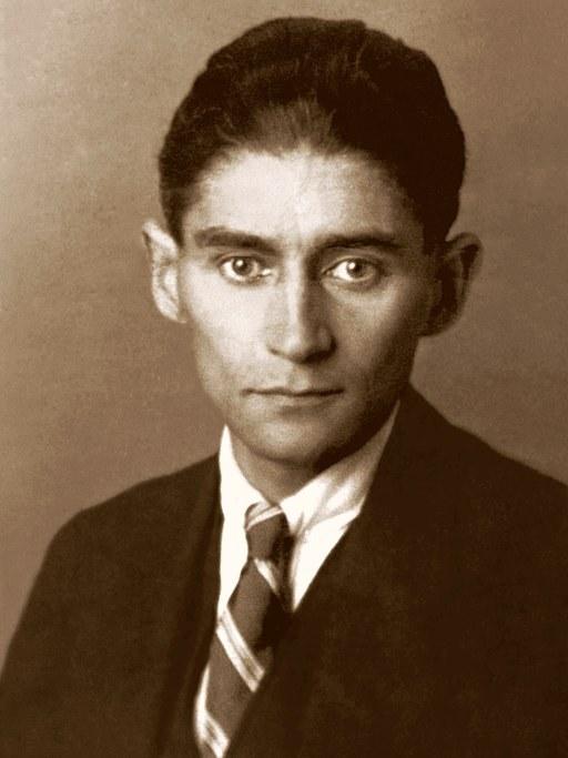Author Franz Kafka, 1932.