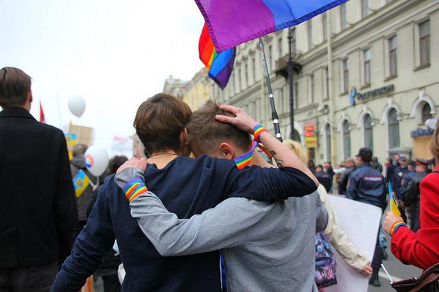 Pride, Russia, 2014, taken by Maria Komarova