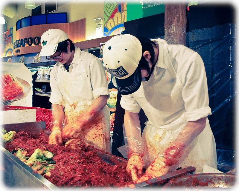 Kimchi Preparers