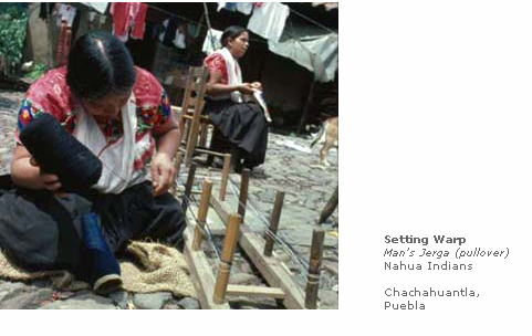 Setting Warp: Man's Jerga (pullover)